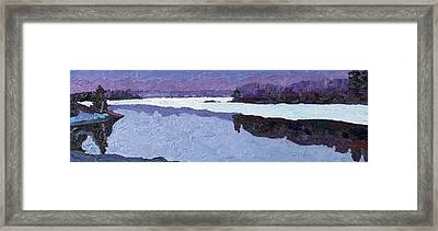 Stratus Day Singleton Framed Print by Phil Chadwick
