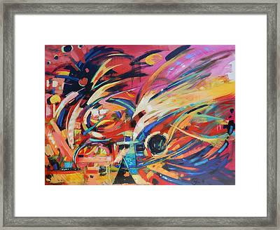 Stravinsky Framed Print by Gary Coleman