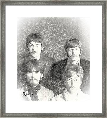 Strawberry Beatles  Framed Print