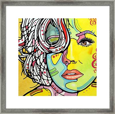 Strawberry Blonde Framed Print by Dean Russo