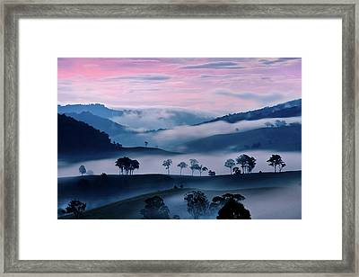 Strawberry Fields Framed Print by Az Jackson