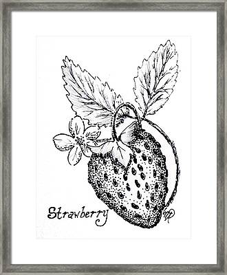 Strawberry Dreams Framed Print