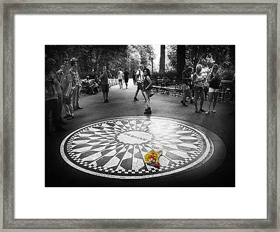 Strawberry Fields Forever Framed Print by Jessica Jenney