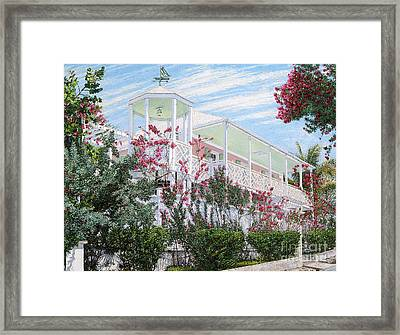 Strawberry House Framed Print