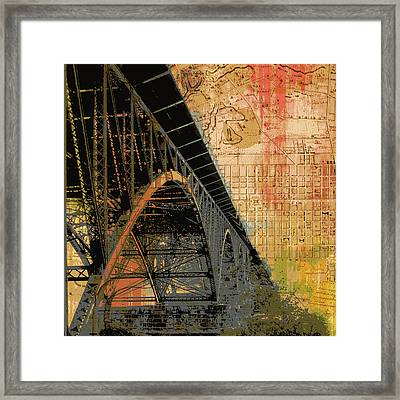 Strawberry Mansion Bridge Philadelphia Pa Framed Print