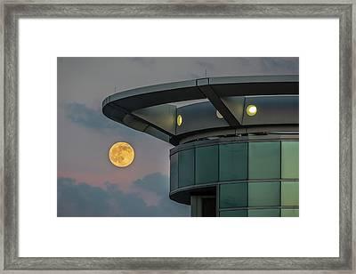 Strawberry Moon - Radisson Plaza Hotel Framed Print