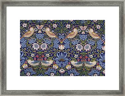Strawberry Thief Framed Print by William Morris