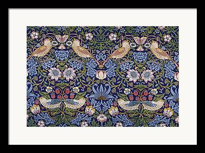 Wildlife Tapestries Textiles Framed Prints