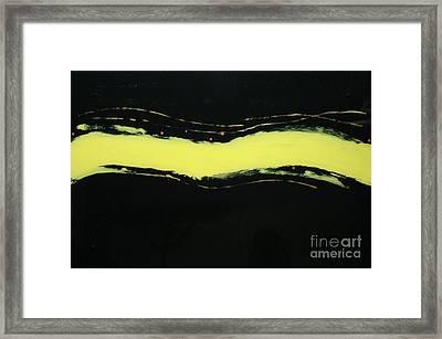 Streak 3 Framed Print by Mordecai Colodner