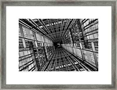 Streak Framed Print by Koji Tajima