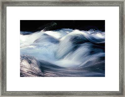 Framed Print featuring the photograph Stream 1 by Dubi Roman