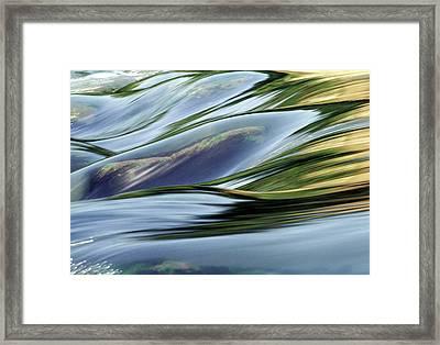 Stream 3 Framed Print