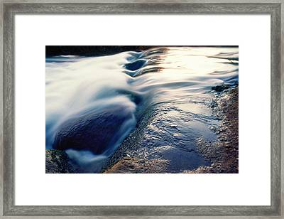 Framed Print featuring the photograph Stream 4 by Dubi Roman