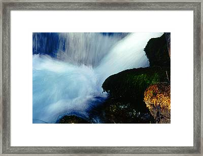 Framed Print featuring the photograph Stream 5 by Dubi Roman