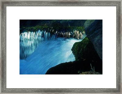 Framed Print featuring the photograph Stream 6 by Dubi Roman