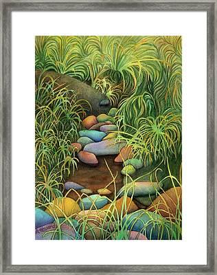 Stream Framed Print by Anne Havard