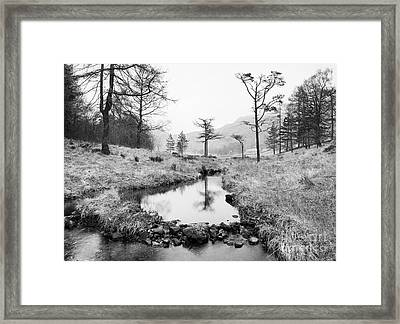 Stream At Blea Tarn Framed Print