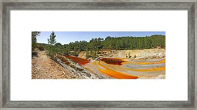 Stream Close To Abandoned Mine, Pena De Framed Print by Panoramic Images