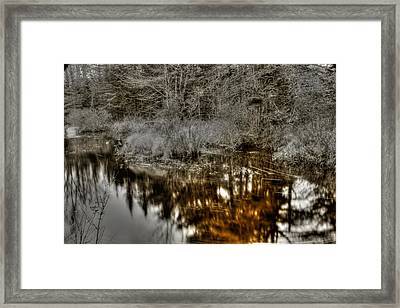 Framed Print featuring the photograph Stream IIi by Greg DeBeck