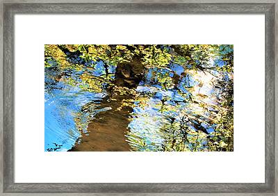 Stream Of Consciousness Framed Print by SeVen Sumet