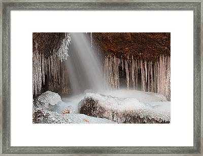 Stream Of Frozen Hope 2 Framed Print