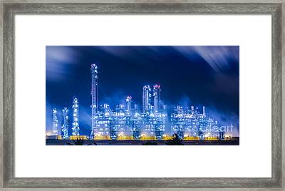 Stream Power Plant Framed Print
