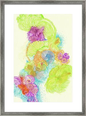 Stream - #ss18dw005 Framed Print by Satomi Sugimoto