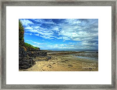 Streedagh Beach Framed Print by Kim Shatwell-Irishphotographer