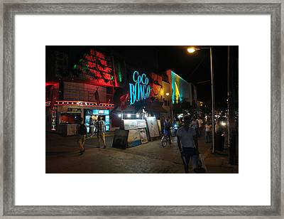 Street 12 Framed Print by Angel Ortiz