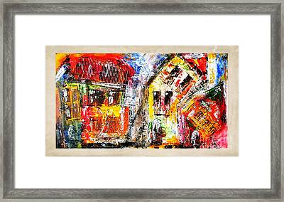 Street 3970 Framed Print