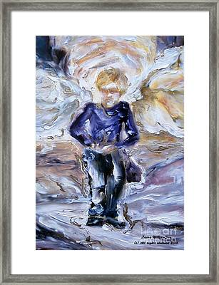 Street Angel Framed Print