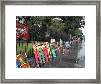Street Art 1 Framed Print by Jack Herrington