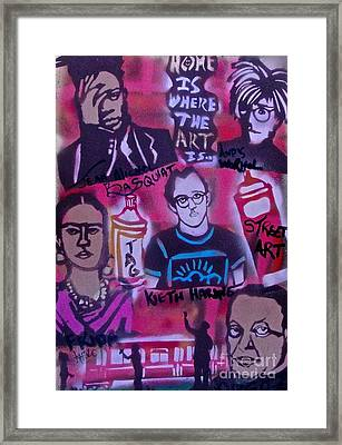 Street Art 101 Framed Print by Tony B Conscious