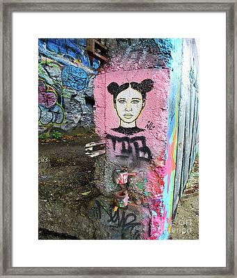 Framed Print featuring the photograph Street Art by Bill Thomson