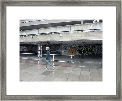 Street Art Framed Print by Rachel Morrison