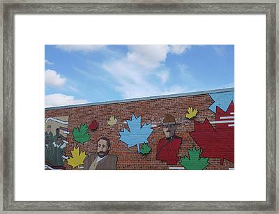 Street Art Framed Print by Robert Braley