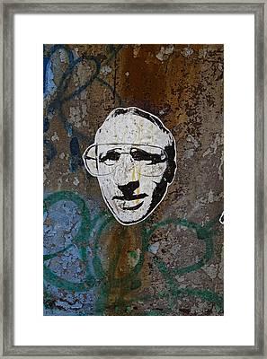 Street Art Wiliamsburg Brooklyn Framed Print by Robert Ullmann