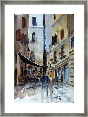 Taverna D' Strada Framed Print
