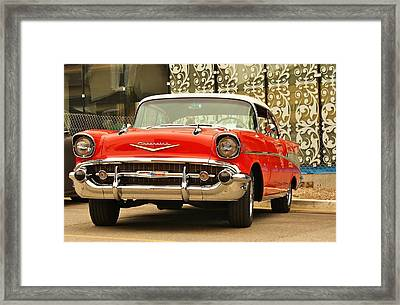 Framed Print featuring the photograph Street Classic by Al Fritz