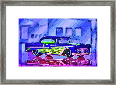 Street Cruiser - American Way Of Drive 2 Framed Print