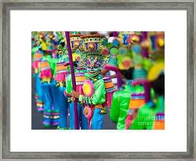 Street Dance 1 Framed Print