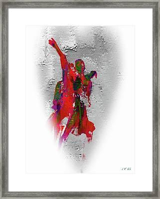 Street Dance 8 Framed Print