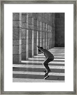 Street Dancer Framed Print