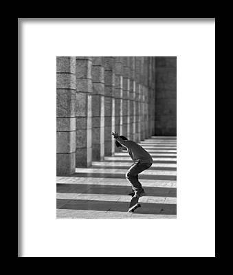 Trick Framed Prints