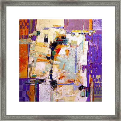 Street Fair Framed Print by Dale  Witherow
