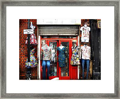 Street Fashion Framed Print
