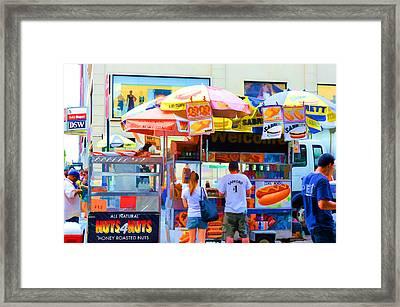Street Food 1 Framed Print by Lanjee Chee