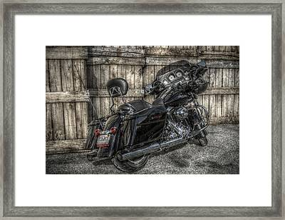 Street Glide Crated 2 Framed Print by Bennie McLendon