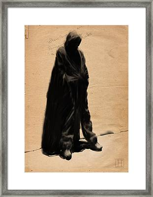 Street Framed Print by H James Hoff