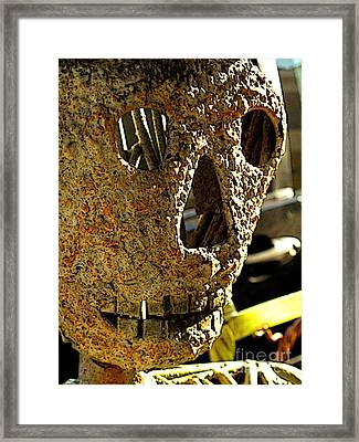 Street Icon Day Of The Dead Framed Print by Mexicolors Art Photography